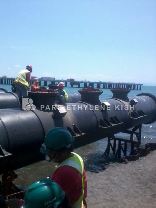 Navire HDPE pipe